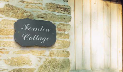 House Signs  | Business Signs | Delabole Slate