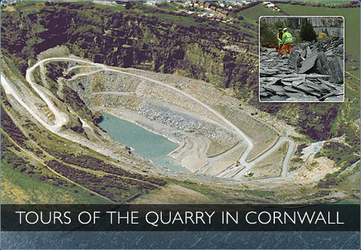 Tours of the Quarry in Cornwall