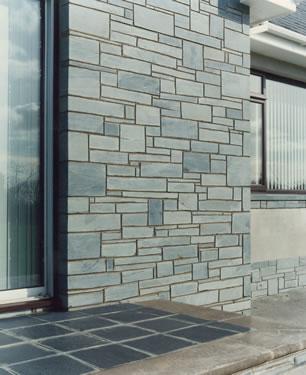 Blue Grey Sawn Faced Building Stone Delabole Slate