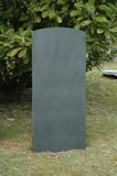 Fine Rubbed Headstone with Oval Top